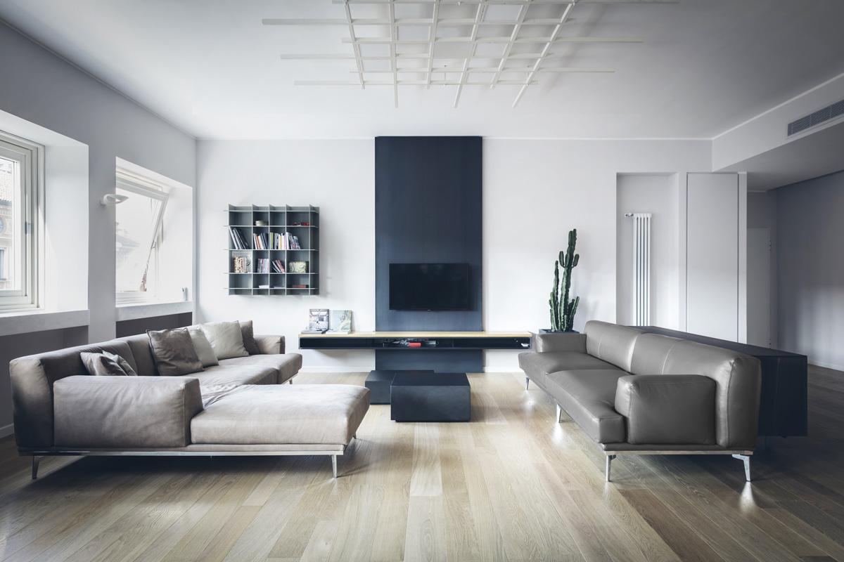 Soggiorno moderno alcune idee di interior design hotelmilan for Idee salotto moderno